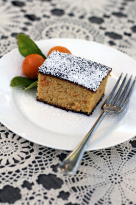 Cumquat Middle Eastern cake