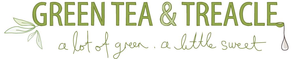 Green Tea & Treacle - a lot of green . a little sweet
